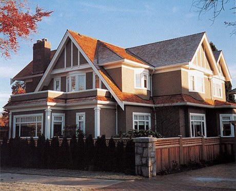 别墅屋顶气窗图片